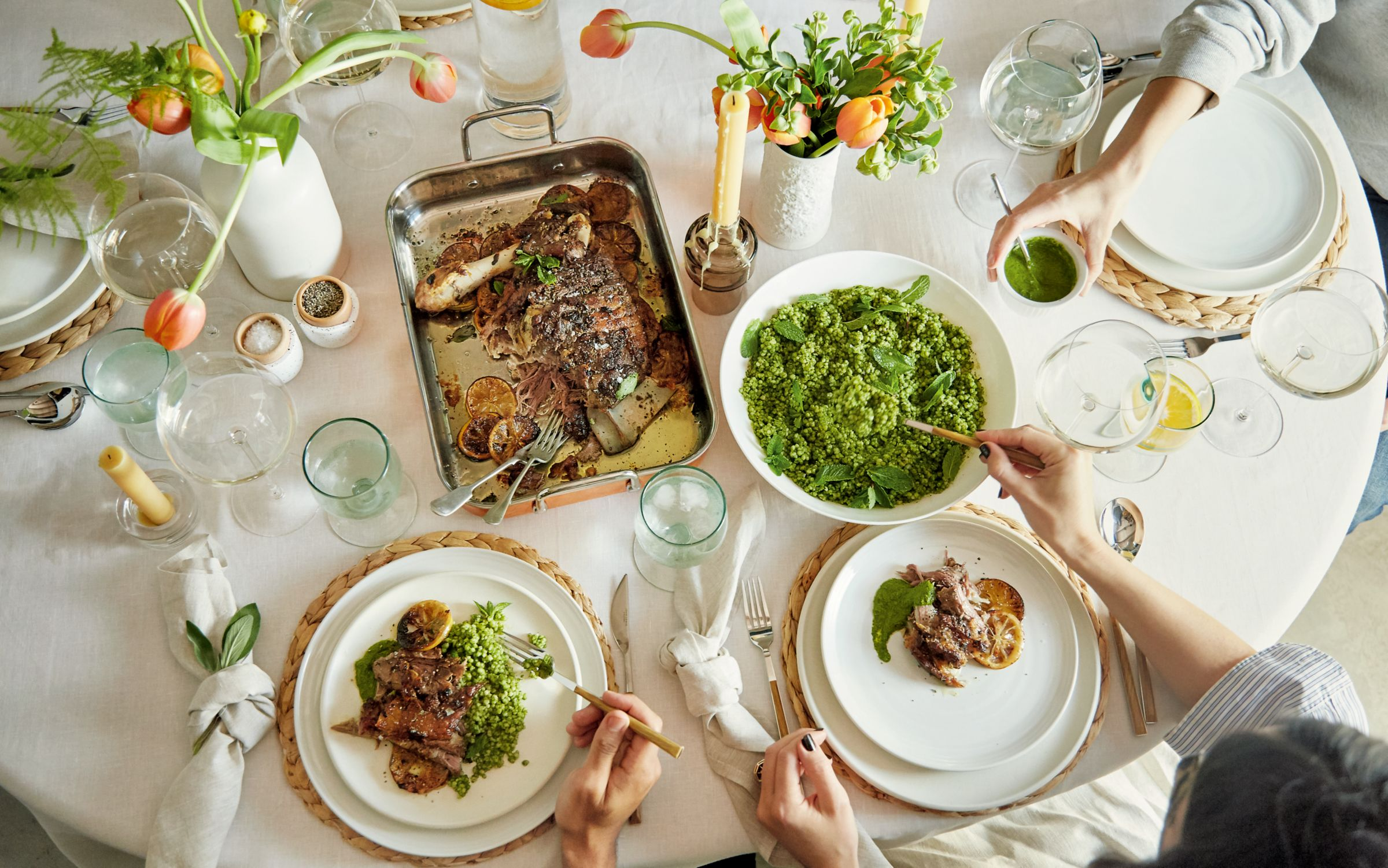 easter table styling idea