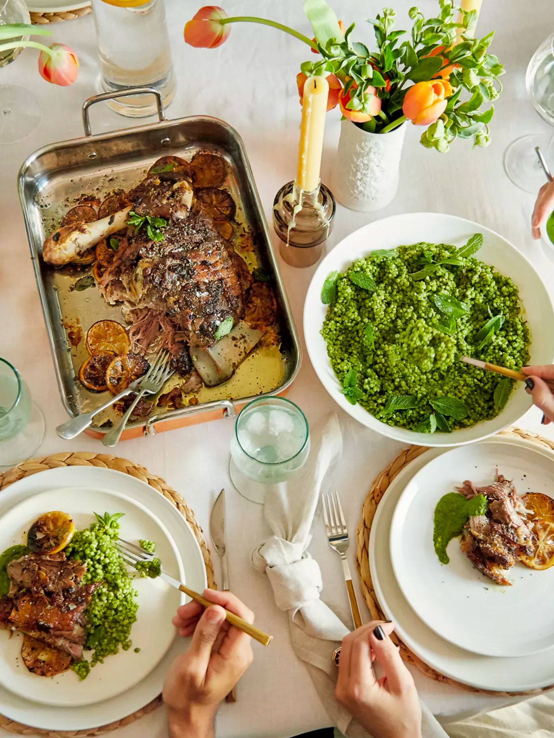 Easter table styling ideads