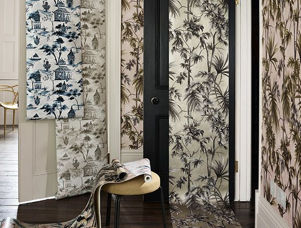 Heritage wallpaper designs