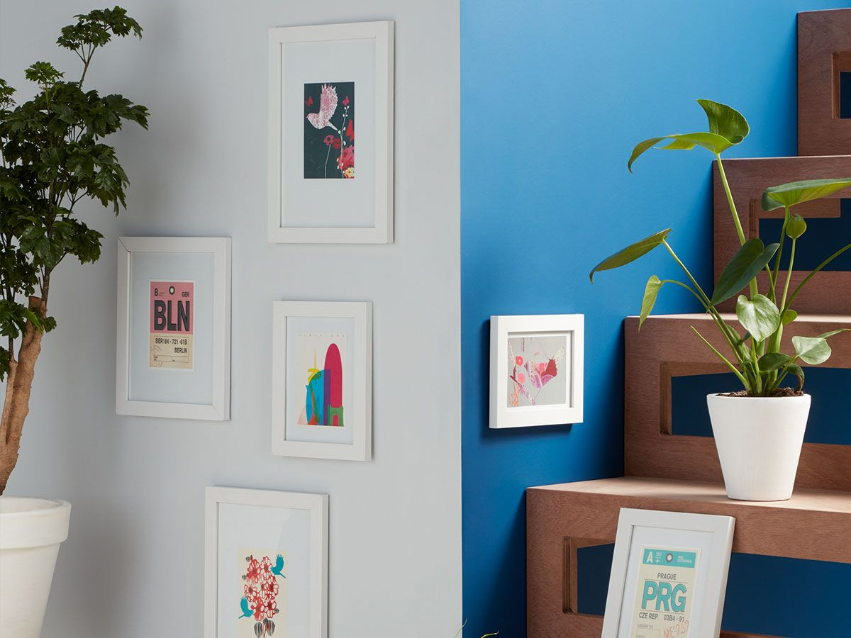 How to hang pictures and wall art