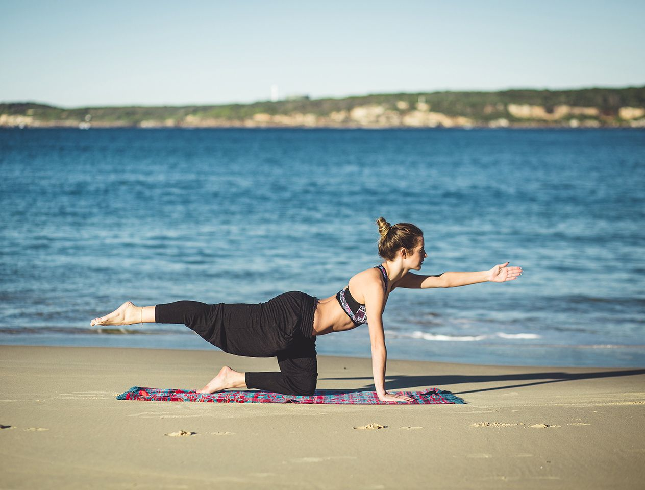holiday fit kit yoga beach