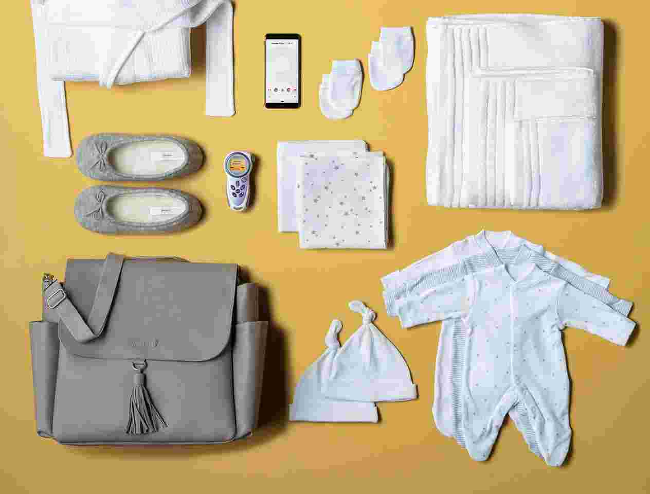 Hospital bag checklist products