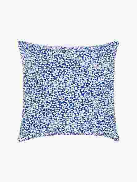 House by John Lewis Yin Cushion, Cobalt