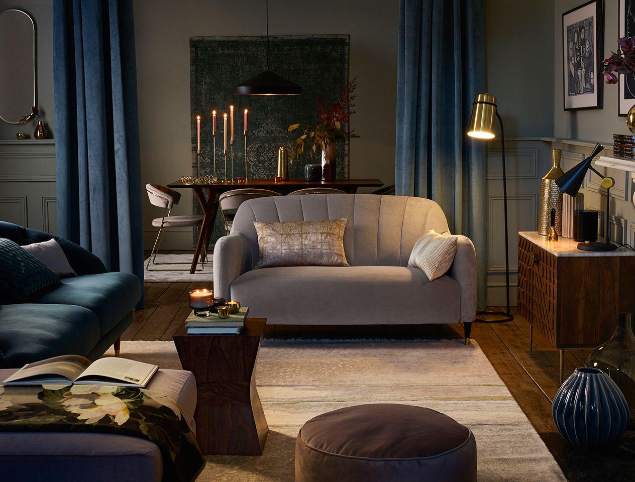 Arrange your living room for entertaining  John Lewis & Partners