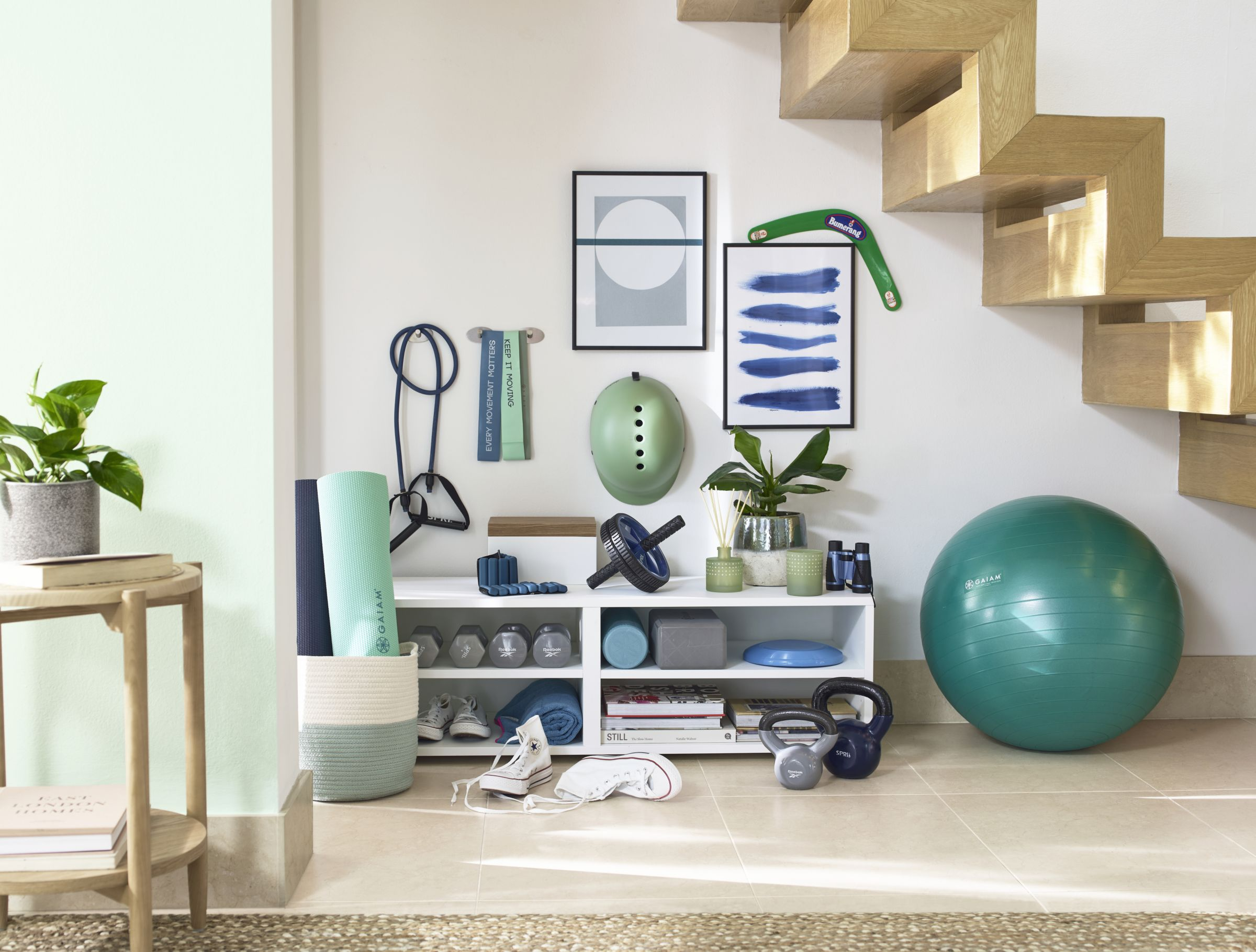 Build a stylish home gym