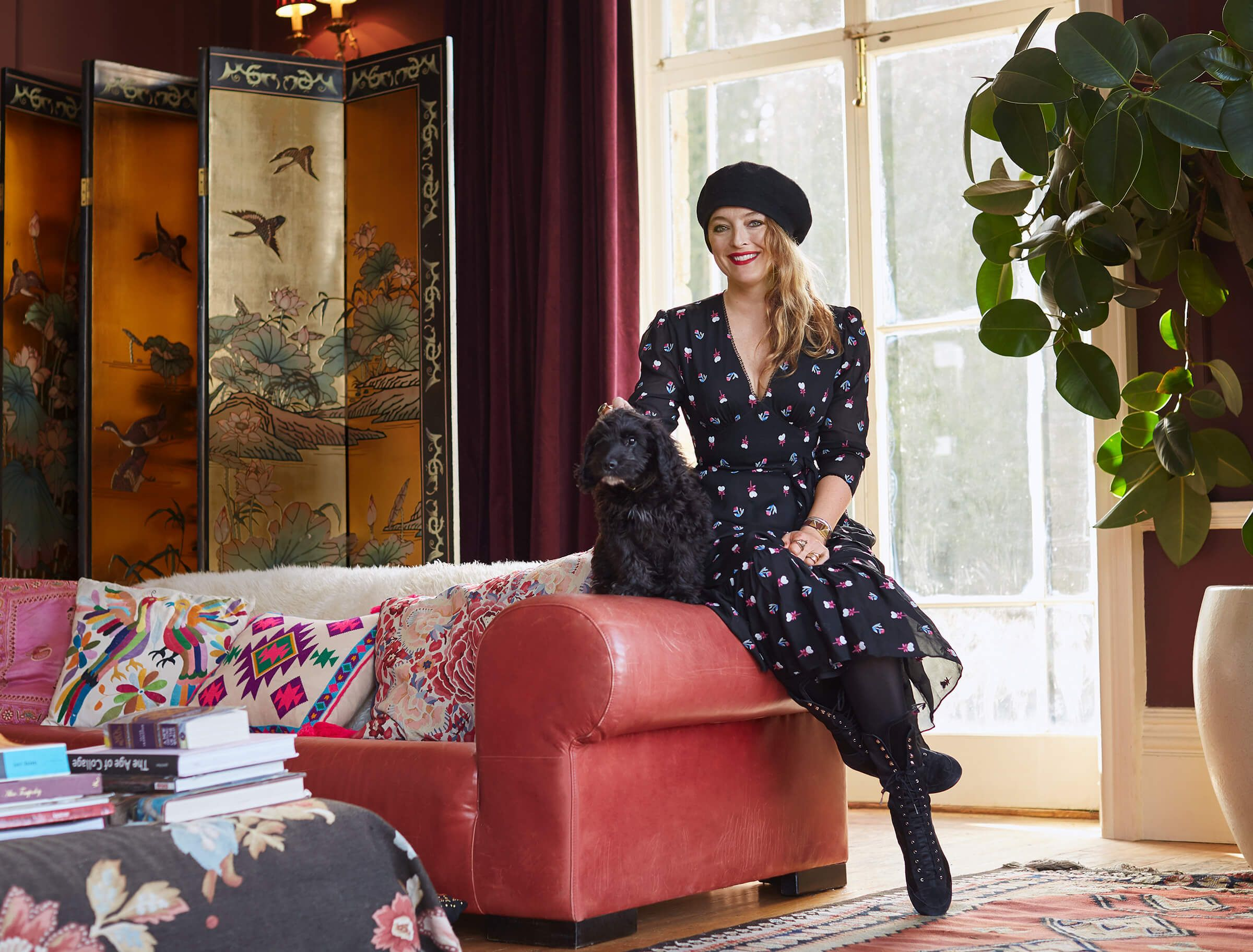 Inside Alice Temperley's beautiful Somerset home