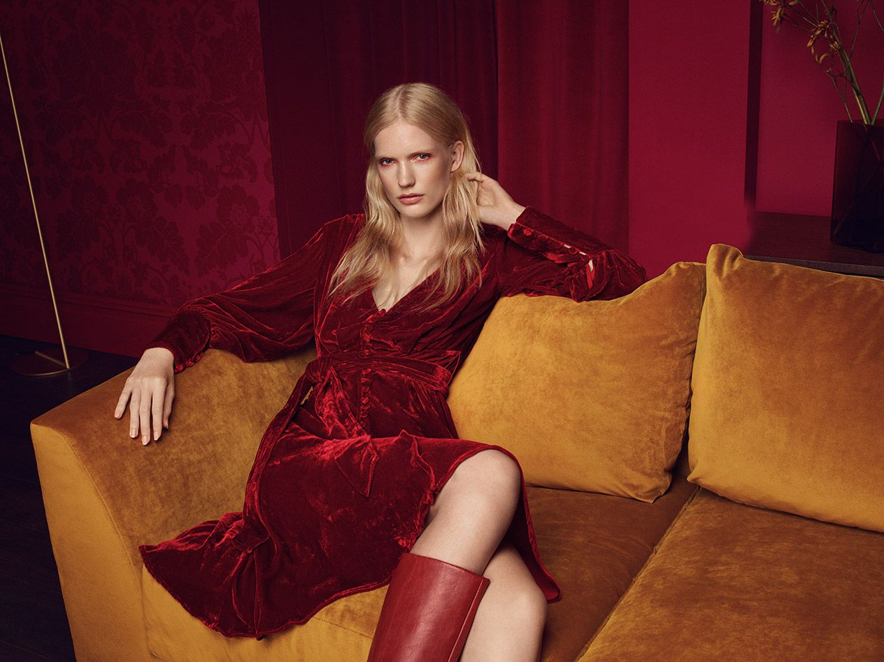 Three ways to wear velvet to your Christmas party