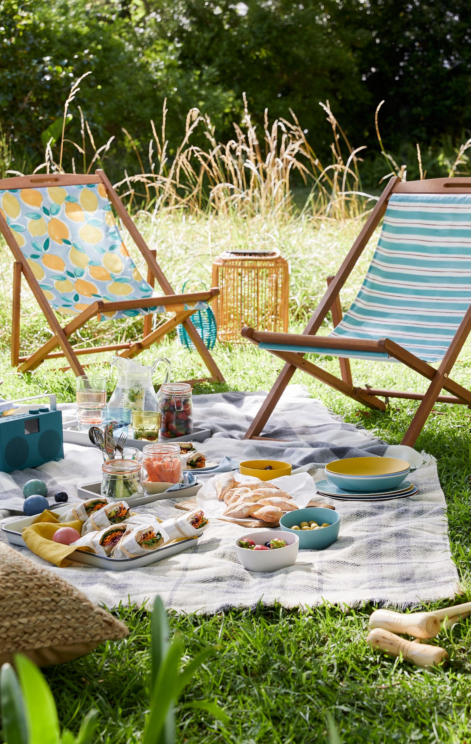 Picnic ideas chairs